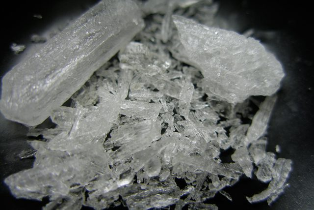 """Ice,"" a highly potent form of methamphetamine that is more addictive than speed or ecstasy."