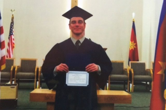 Jason Johnson completed the Portland Adult Rehabilitation Center (ARC) GED program and graduated from the ARC in July.