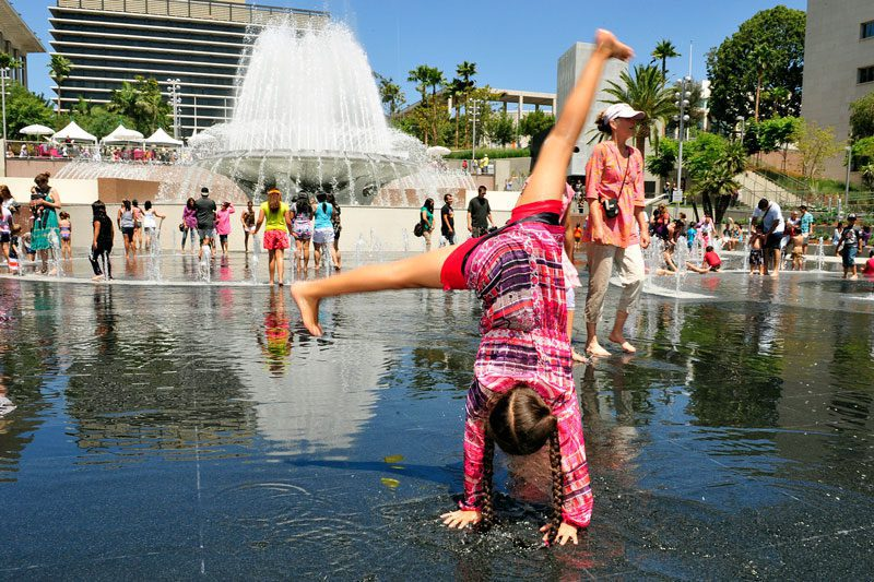 Grand Park in Los Angeles (Photo by John McCoy)