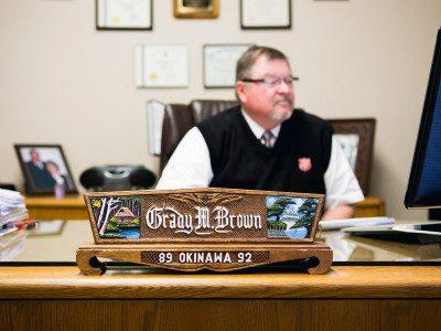 Major Grady Brown