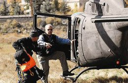 Dan Smith and Helicopter