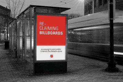 Salvation Army Reclaiming Billboards