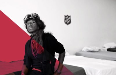 Transgender woman in Salvation Army Shelter