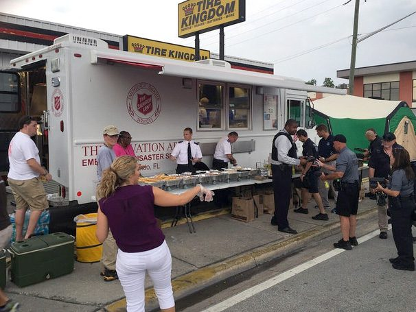 As Florida reeled from a mass shooting June 12, The Salvation Army supported first responders.