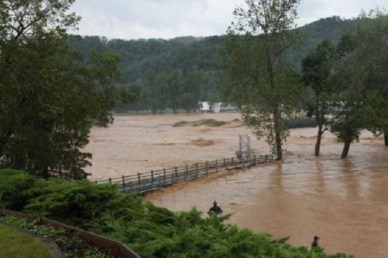 Thousands have been displaced by deadly flash flooding that tore through much of West Virginia last Thursday.