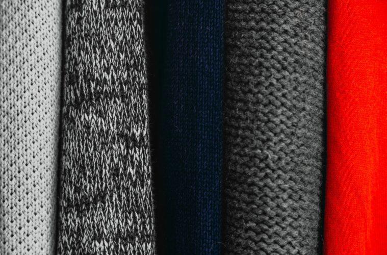 closeup of suits