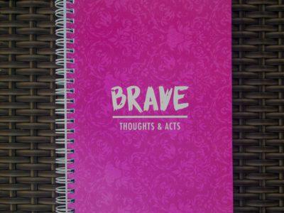 'Brave' notebook