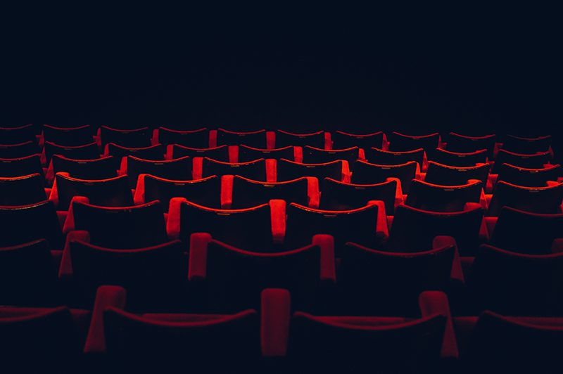 Empty seats in theater
