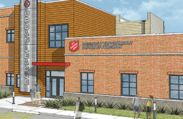 Rendering of empowerment center in Ferguson