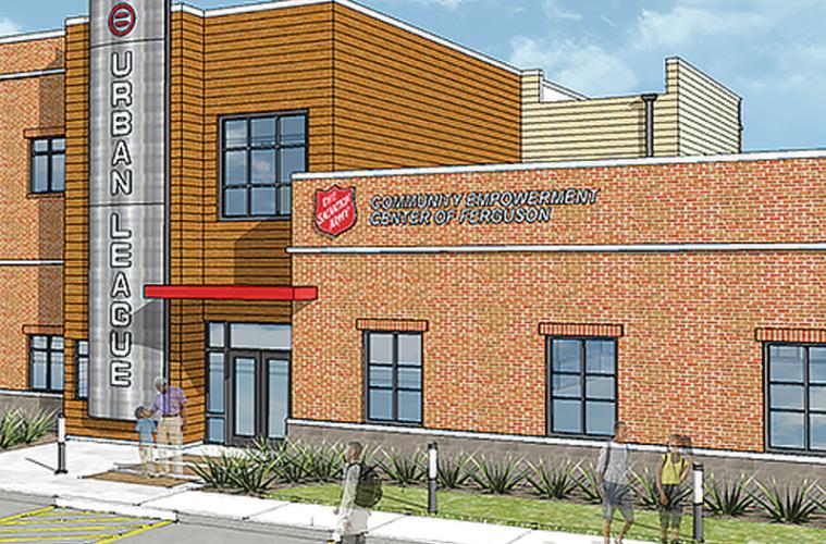 Rendering of empowerment center in Ferguson