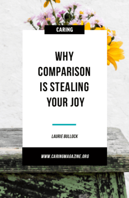 Why comparison is stealing your joy