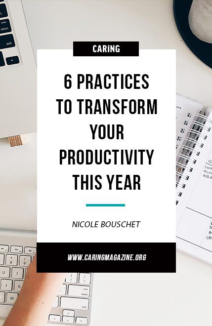 productivity tips for transforming your 2018