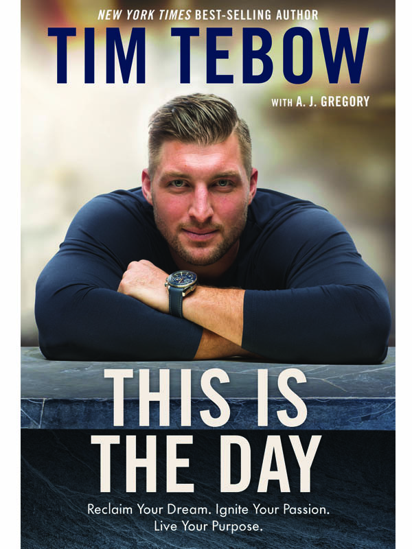 "Cover for ""This is the Day"" by Tim Tebow"