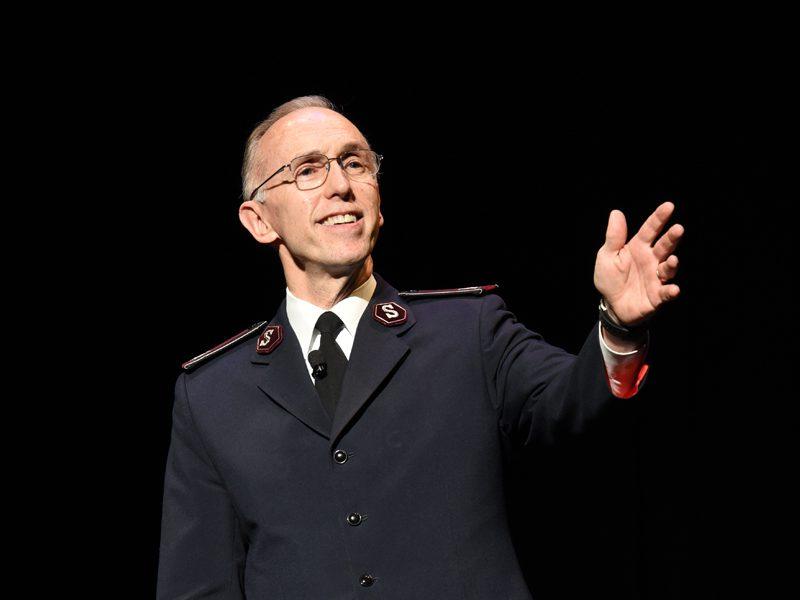 Commissioner Kenneth G. Hodder Giving Speech