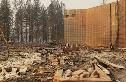 Damage caused by Paradise Fire
