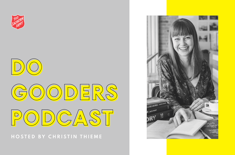 Do Gooders Podcast Cover with Christin Thieme