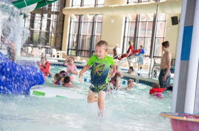 Children Playing in Pool at Coeur d'Alene Kroc Center