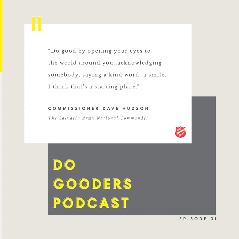 Do Good Quote Commissioner Dave Hudson