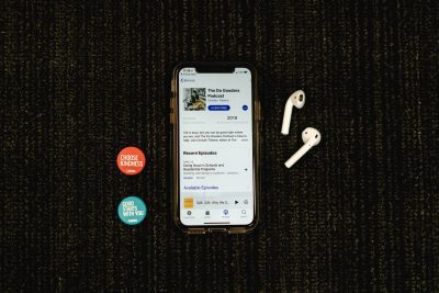 Iphone, Airpods, and Caring Pins with Do Gooders Podcast