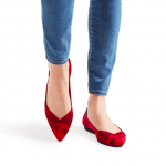 "Red ""Rothy's"" Flats"