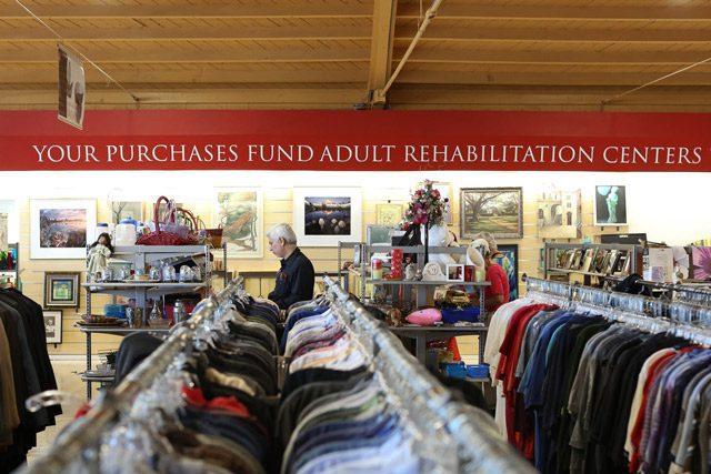 ARC Thrift Store Banner Inside