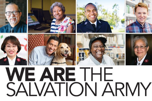 "Cover of ""We Are The Salvation Army"" Book"