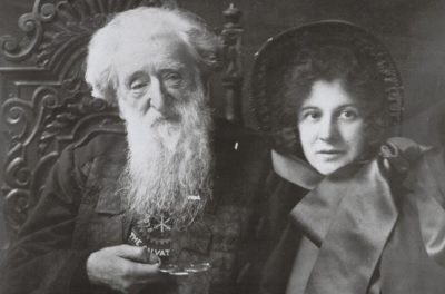 Picture of William Booth and daughter Evangeline
