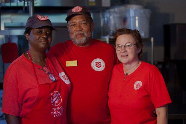 Three EDS Volunteers